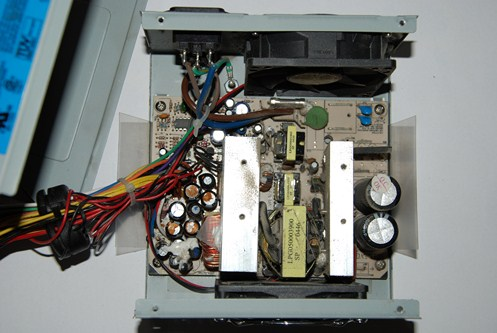 Easy to do repairs of an ATX power supply